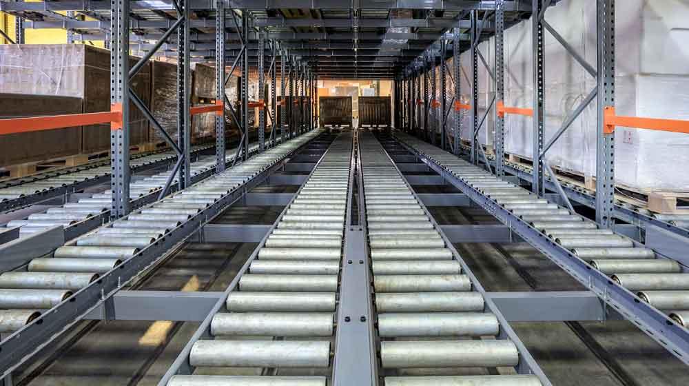 flow storage racking