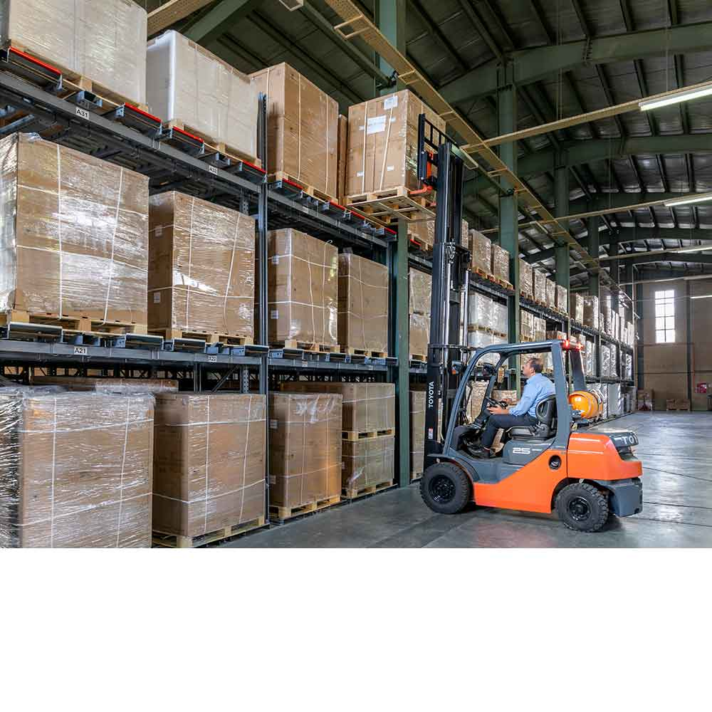 warehouse equipment and storage systems