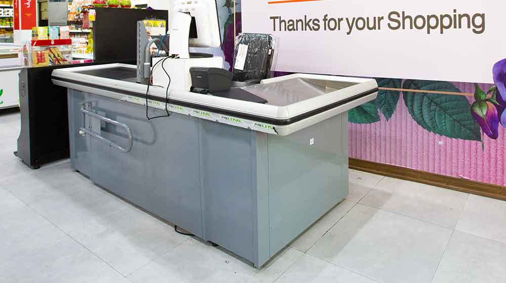 check out counter