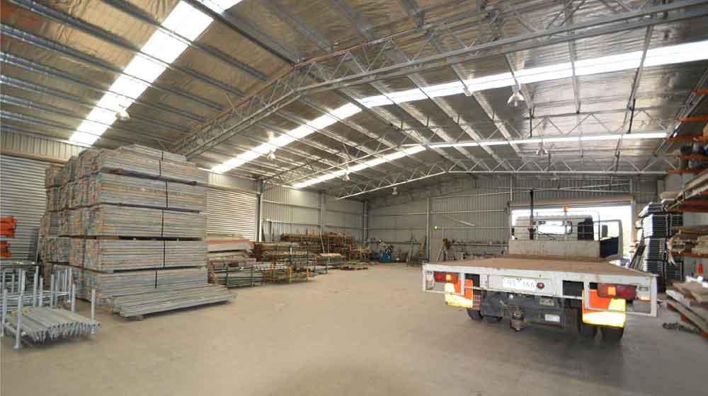 warehouse steel structures